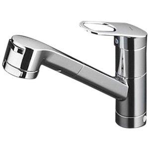 台所ワンホール混合水栓シャワーヘッド